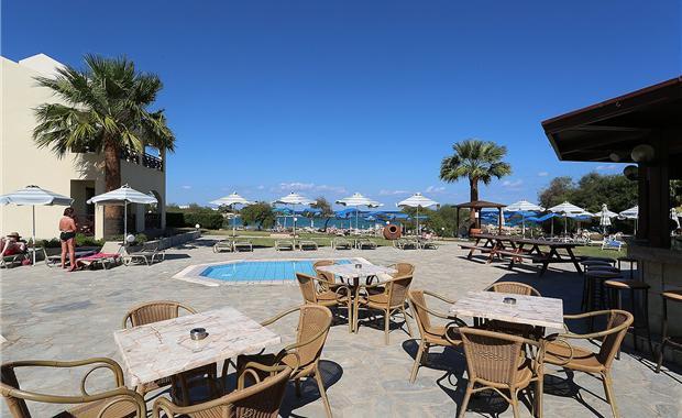 Кипр Mimosa Beach Hotel 3* фото №2