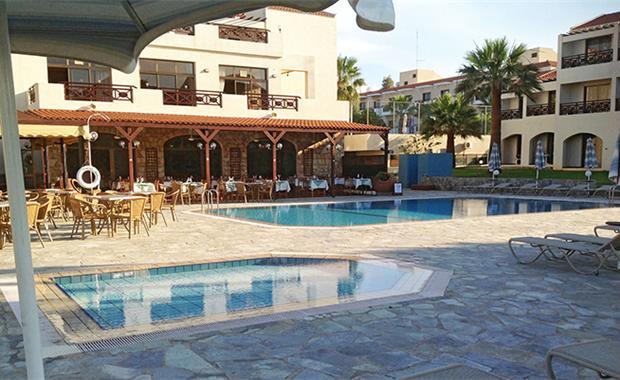 Кипр Mimosa Beach Hotel 3* фото №3