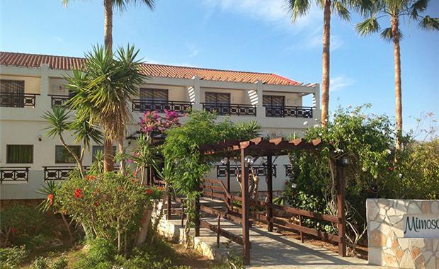 Кипр Mimosa Beach Hotel 3* фото №4