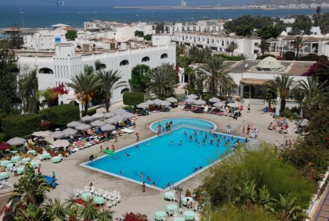 Марокко HOTEL BLUE SEA LE TIVOLI 4* фото №1