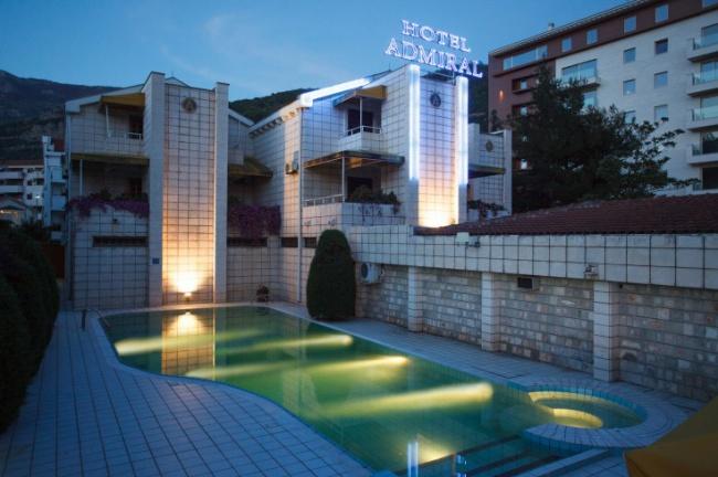 Черногория Hotel Admiral 3*