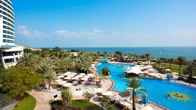 ОАЭ Le Meridien Al Aqah Beach Resort 5* фото №2