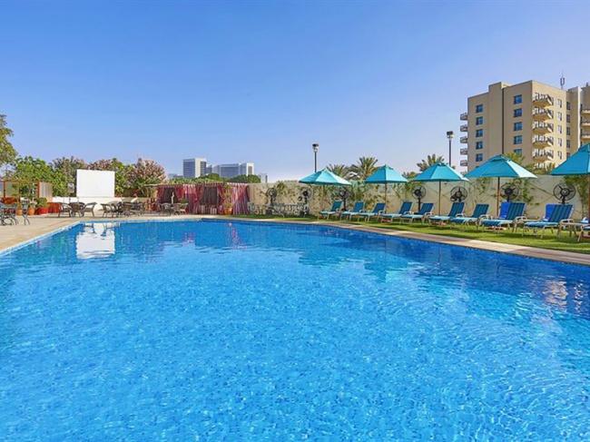 ОАЭ Arabian Park Hotel Dubai 3* фото №4