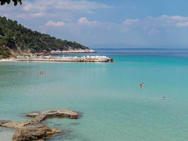 Греция Makryammos Bungalows Hotel 4* фото №1