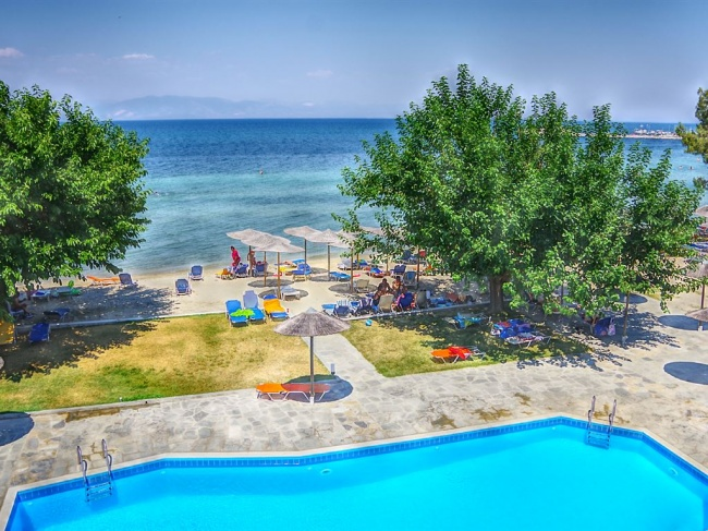 Греция Rachoni Beach Hotel 3* фото №4