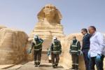 В Египте продезинфицировали пирамиды и Большого Сфинкса