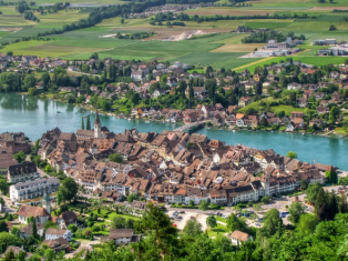 Посмотреть Швейцарию и посетить авто-салон в Женеве