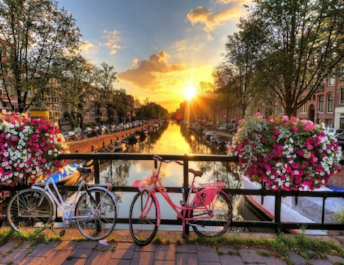 Нидерланды Weekend в Амстердаме