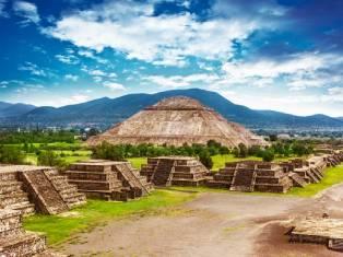 Мехико, Антропологический музей, пирамиды Теотиуакана и Город Серебра