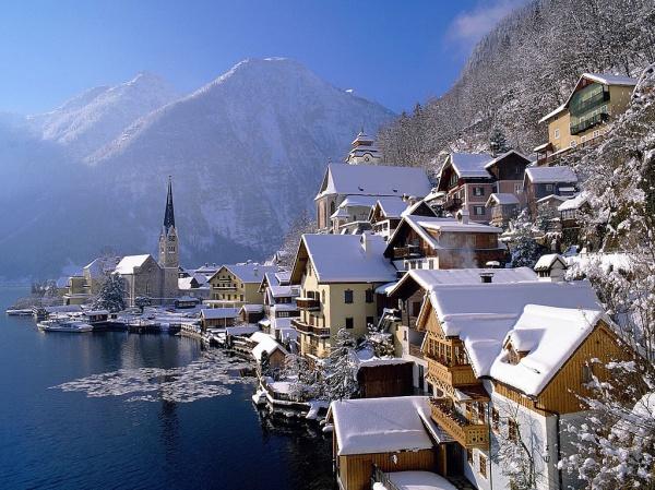 Австрия Горнолыжная Австрия на Рождество