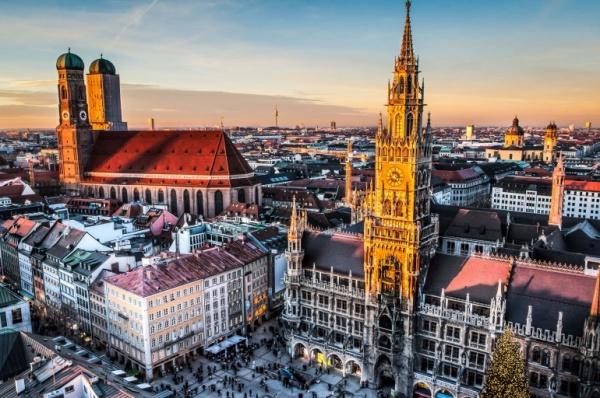 Германия Уик-энд в Мюнхене