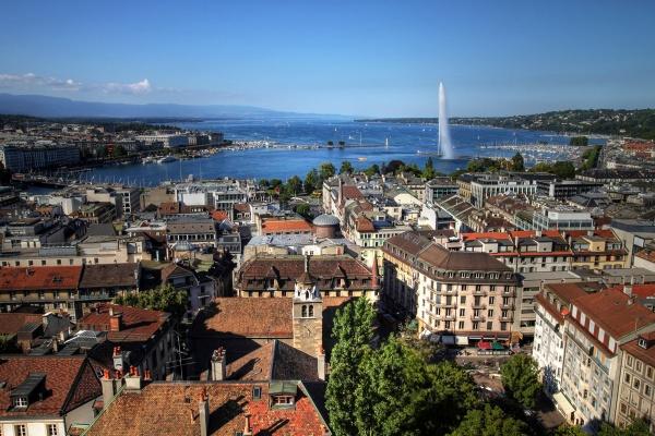 Выходные в Женеве