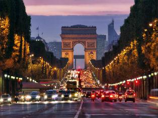 Франция Бархатный Париж