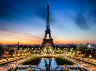 Франция Романтические сны о Париже