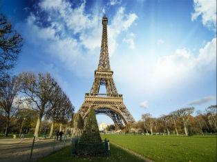 Франция Очарование старого Парижа