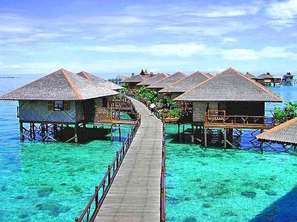 Малайзия: экзотические пляжи Борнео
