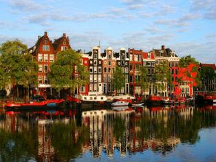 Нидерланды Мои лучшие друзья  Амстердам, Париж и я