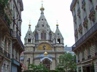 Венчание в Соборе Святого Александра Невского в Париже
