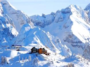 Италия Долина Валь Гардена - звезда Доломитовых Альп