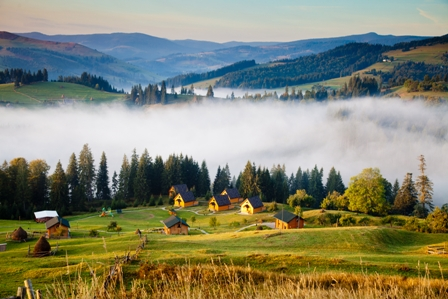 Украина Карпатских гор перезвон