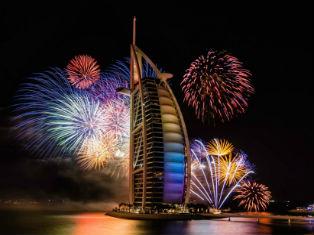 Роскошный Новый Год 2020 в ОАЭ
