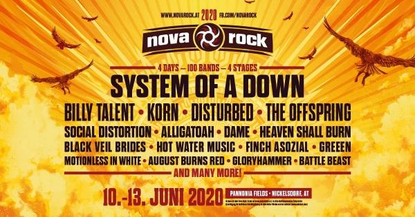 Євротур на фестиваль NOVA ROCK 2020