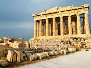 Греция Античная Греция из Салоник