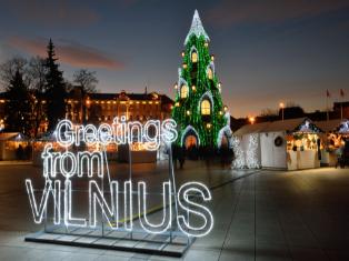Литва Встречаем Новый 2018 год в Литве