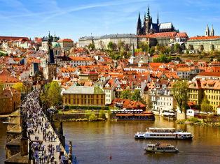 Чехия Под крылом самолета: пражское очарование