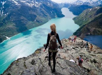 Норвегия Норвежские Фьорды