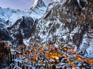 Швейцария Швейцарский слалом