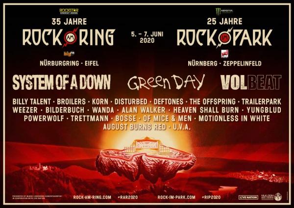 Євротур на 25-тий ювілейний фестиваль ROCK IM PARK 2020