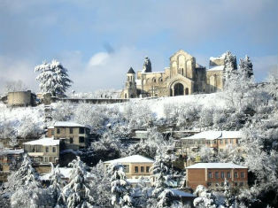 Грузия Зимняя сказка Грузии