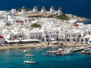 Греция Остров Миконос+Афины