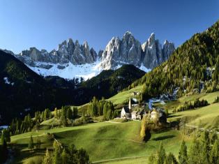 Альпийская сказка Мюнхен и Альпы - замок Нойшванштайн