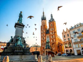 Польша Европейское трио: Краков, Прага, Дрезден!