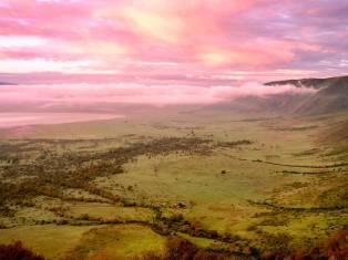 Экспресс сафари кратер Нгоронгоро + озеро Маньяра