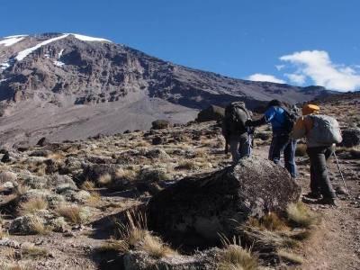 Восхождение на Килиманджаро - маршрут Лемошо